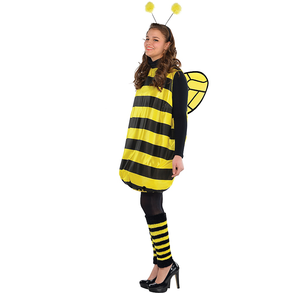 Adult Darling Bee Costume Plus Size Image #3