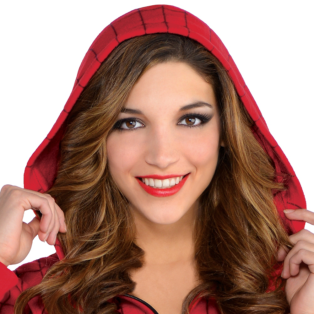 Zipster Spider-Man One Piece Costume Image #2