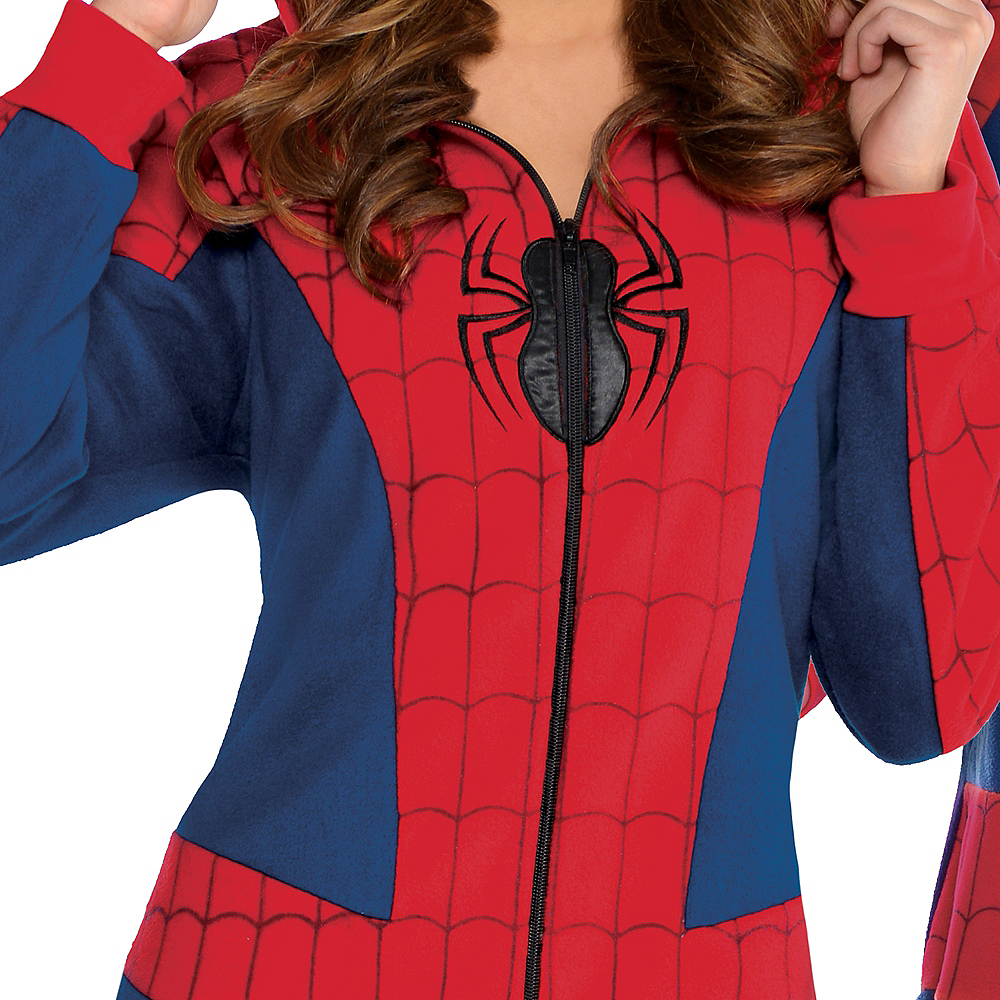Zipster Spider-Man One Piece Costume Image #3