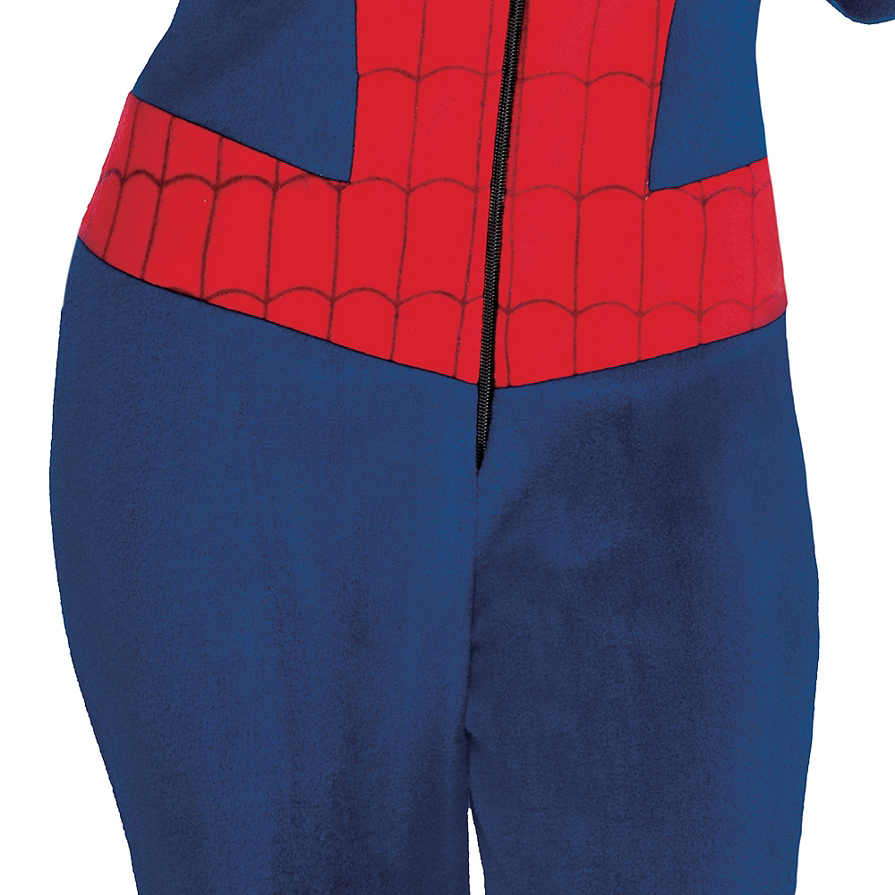 Zipster Spider-Man One Piece Costume Image #4