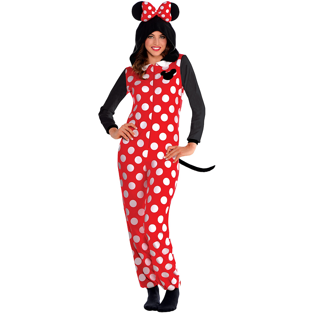 Zipster Minnie Mouse One Piece Costume Image #1