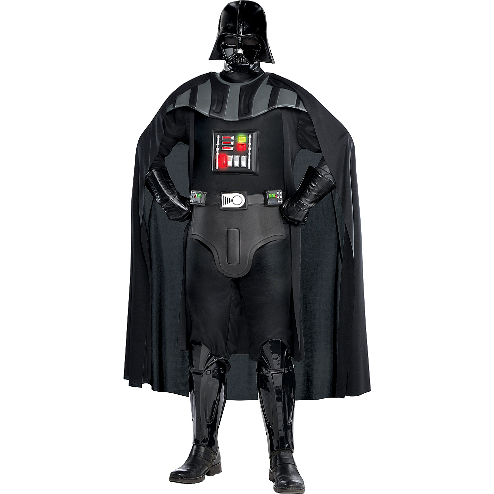 Adult Darth Vader Costume Plus Size Deluxe - Star Wars Image #1
