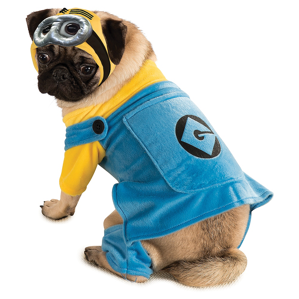 Minion Dog Costume - Despicable Me Image #1
