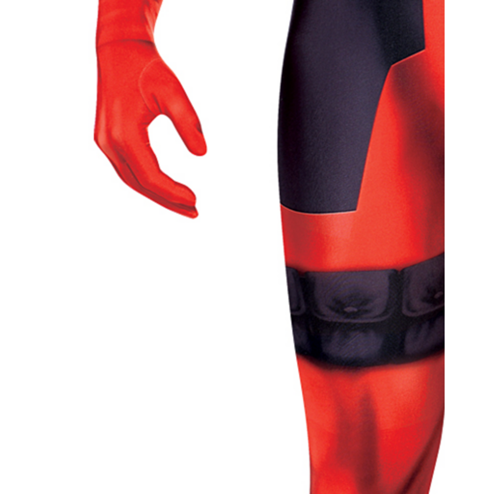 Adult Deadpool Partysuit Image #4