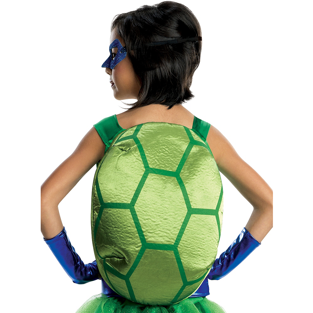 Girls Leonardo Costume Deluxe - Teenage Mutant Ninja Turtles Image #2