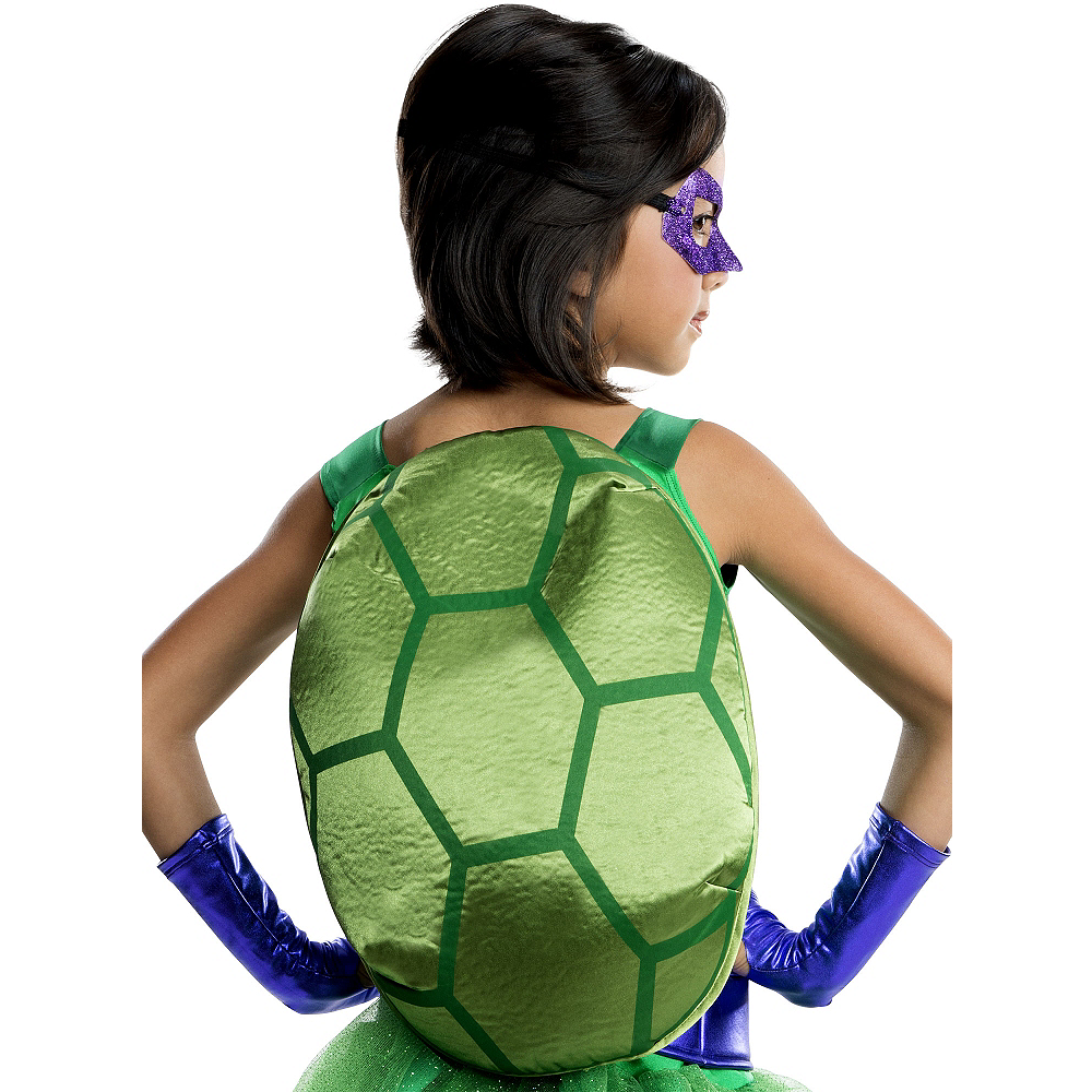 Girls Donatello Costume Deluxe - Teenage Mutant Ninja Turtles Image #2