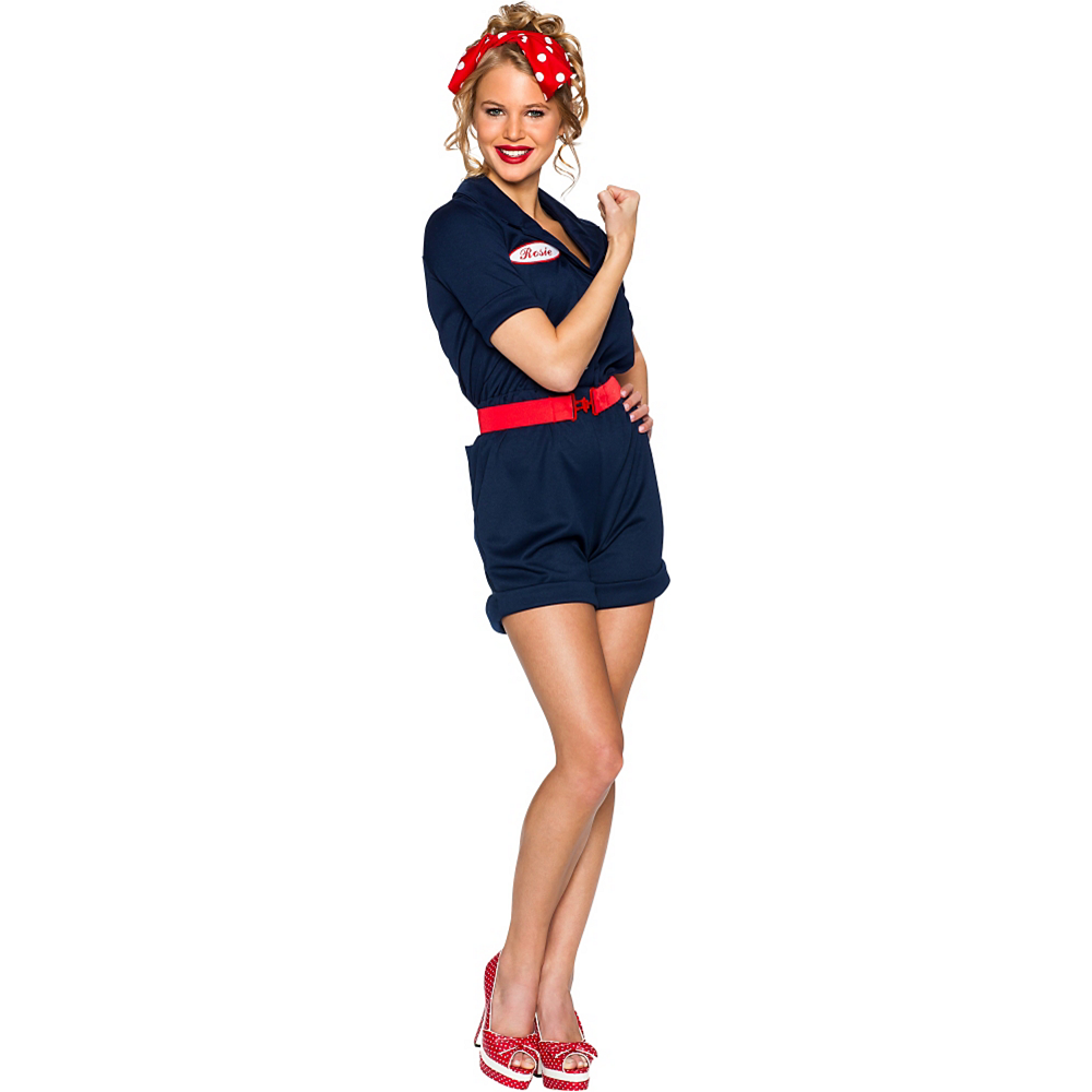 Adult Rosie the Riveter Costume Image #1