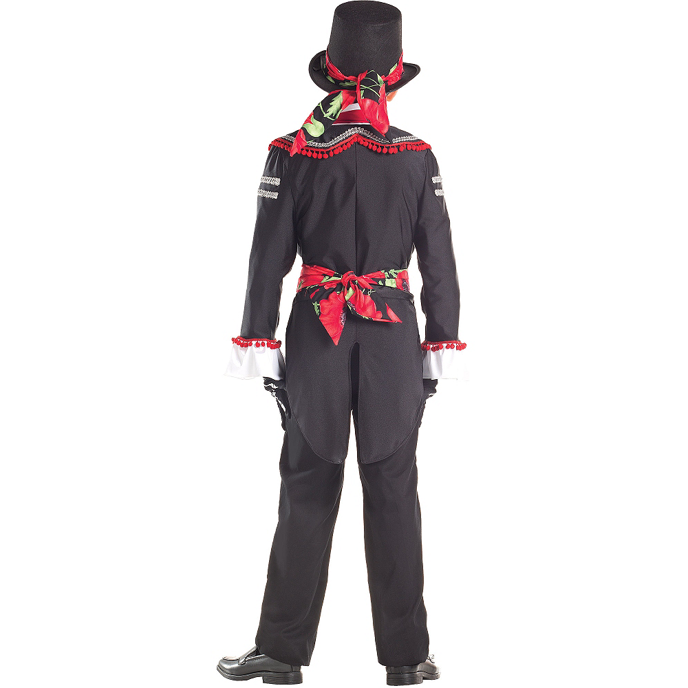 Boys Day of the Dead Senor Costume Image #2