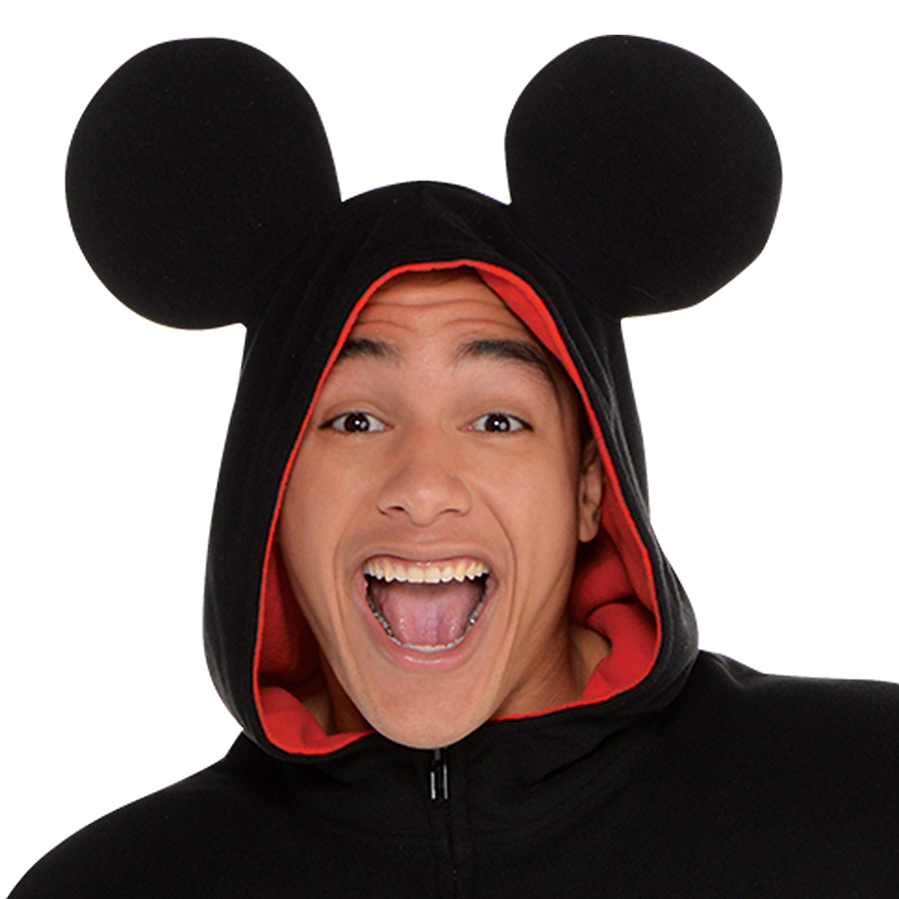 Zipster Mickey Mouse One Piece Costume Image #2