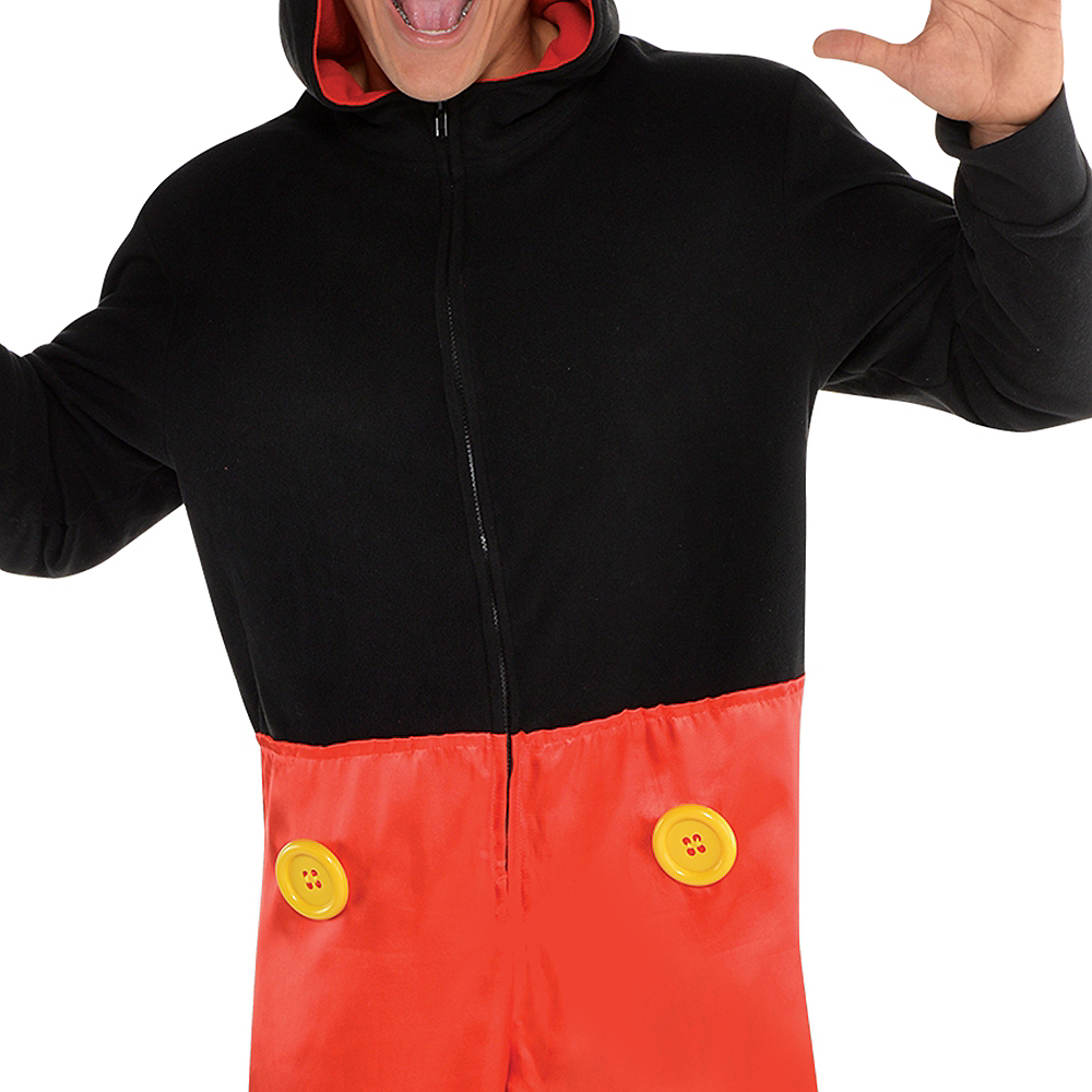 Zipster Mickey Mouse One Piece Costume Image #3