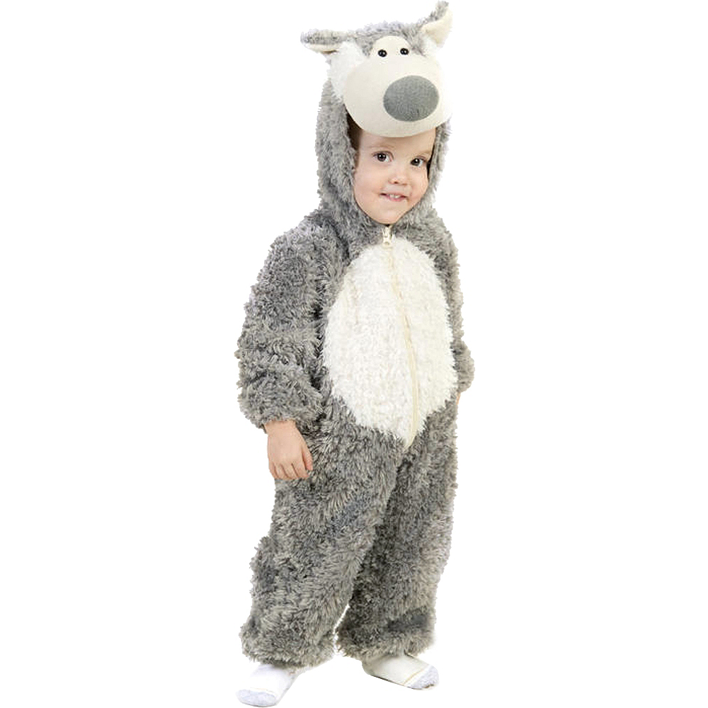Nav Item for Baby Big Bad Wolf Costume Image #1