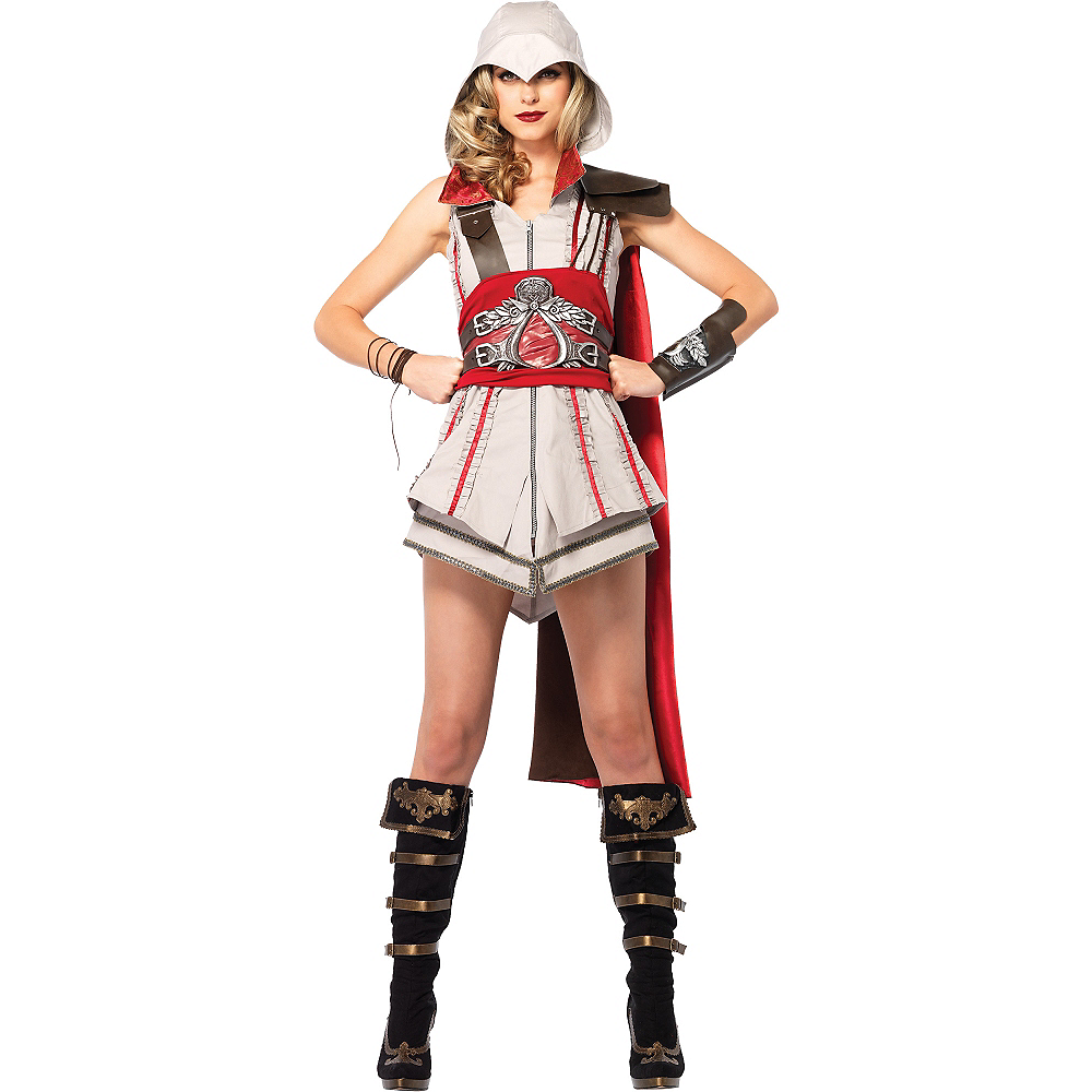 Nav Item for Adult Sexy Ezio Costume - Assassin's Creed II Image #1
