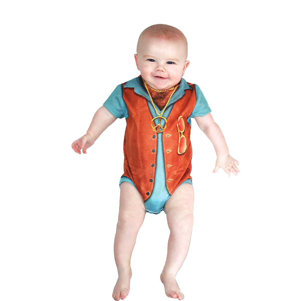 Baby Hairy Chest Bodysuit Image #1
