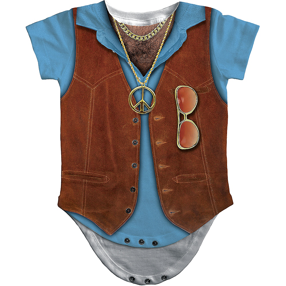 Baby Hairy Chest Bodysuit Image #2