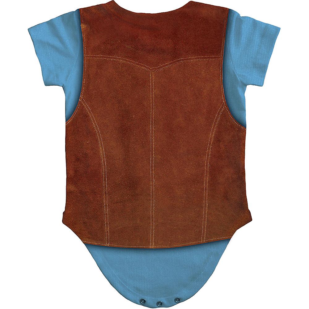 Baby Hairy Chest Bodysuit Image #3