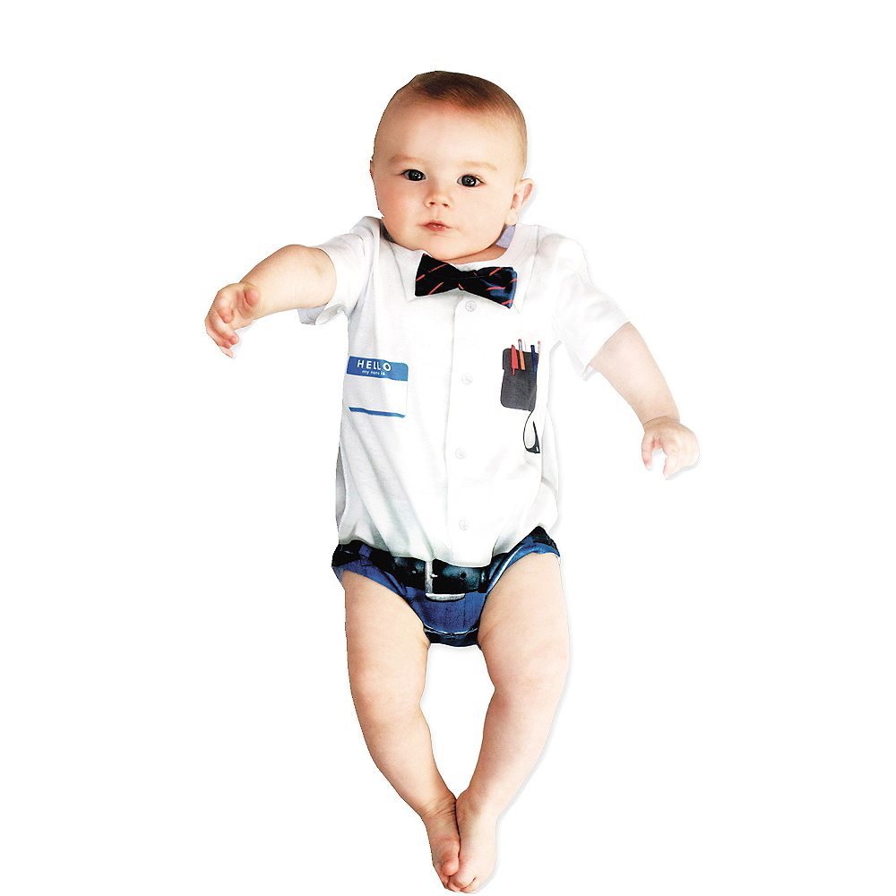 Nav Item for Baby Nerd Bodysuit Image #1