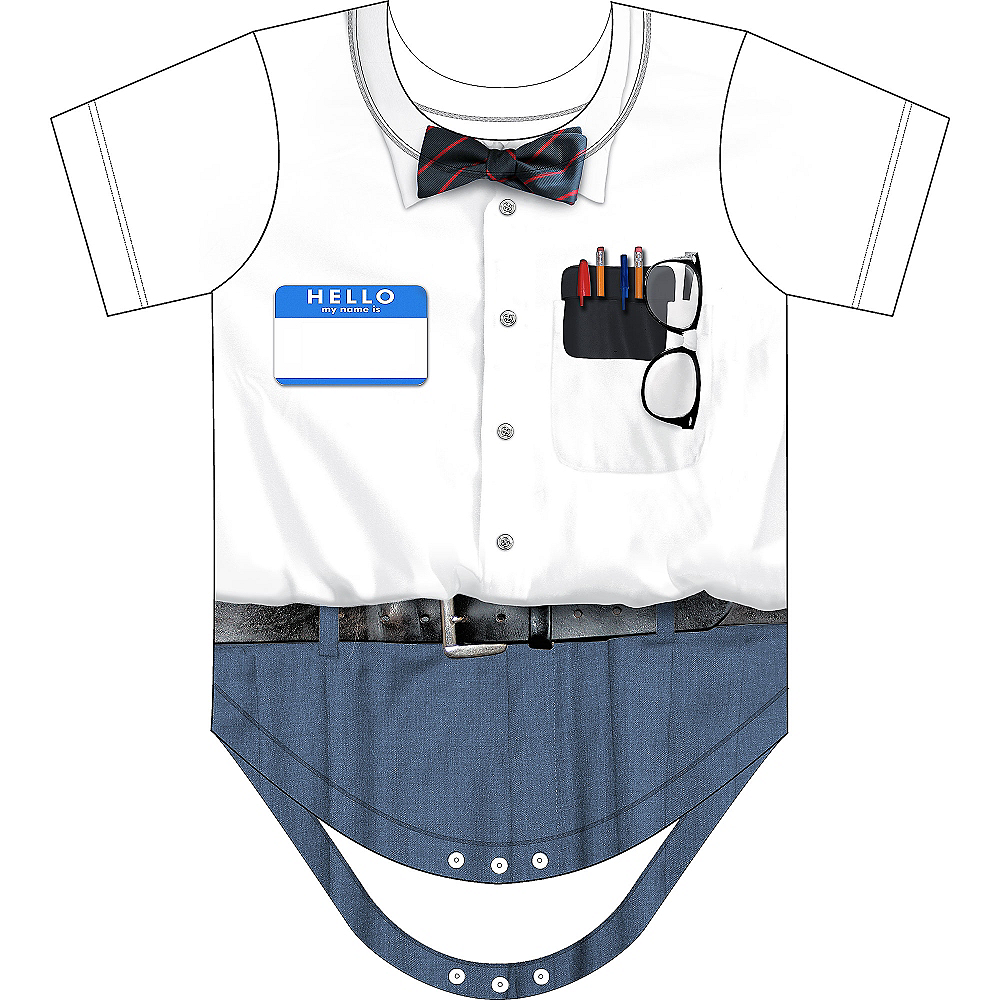 Nav Item for Baby Nerd Bodysuit Image #2