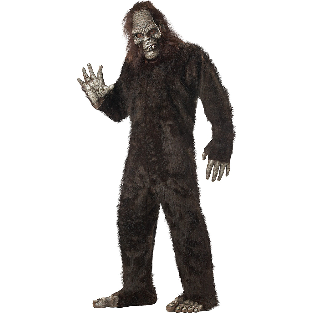 Adult Bigfoot Costume Plus Size Image #1