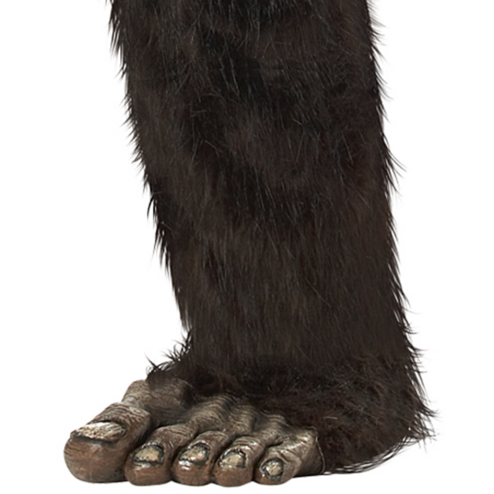 Adult Bigfoot Costume Plus Size Image #4