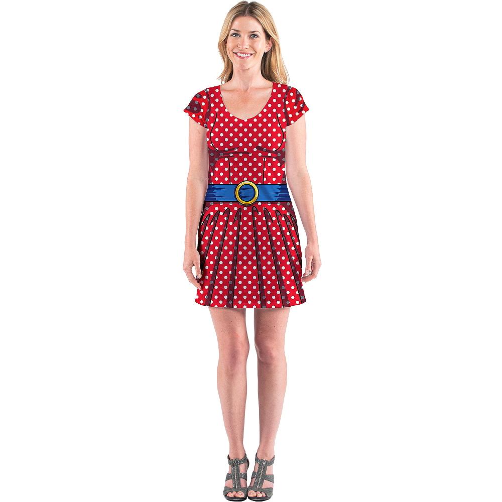 Adult Cartoon T-Shirt Dress Image #1