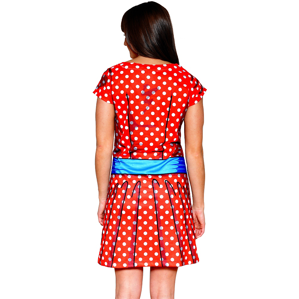 Adult Cartoon T-Shirt Dress Image #2