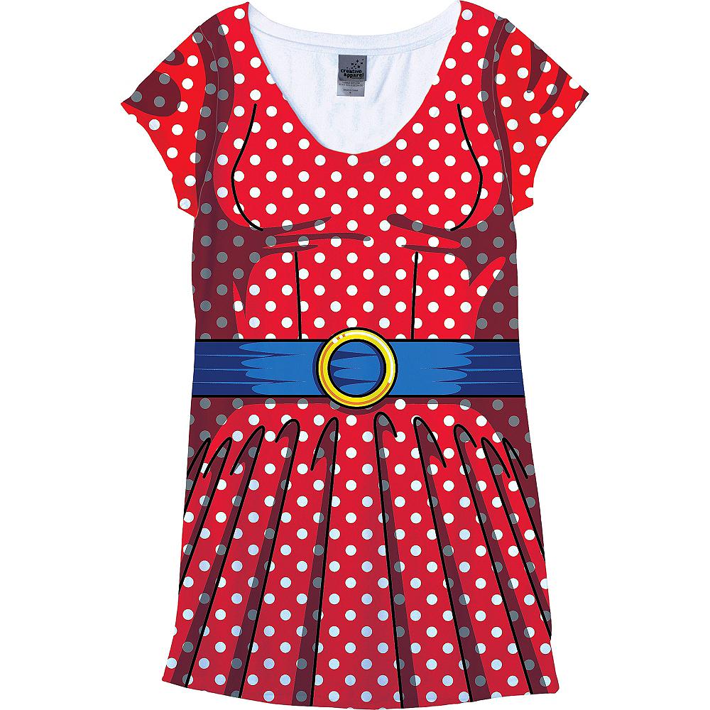 Adult Cartoon T-Shirt Dress Image #3