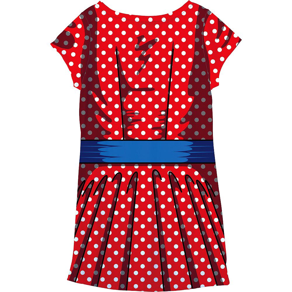 Adult Cartoon T-Shirt Dress Image #4