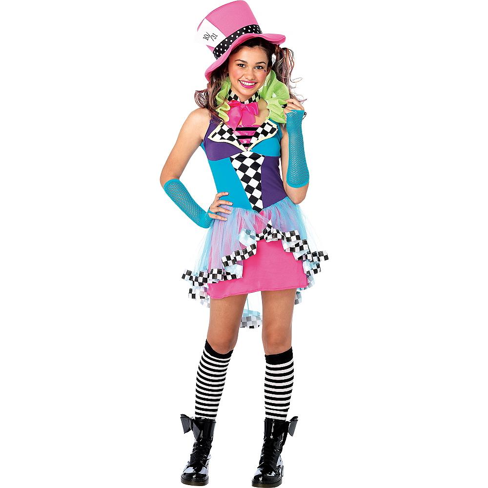 Teen Girls Mayhem Hatter Costume Image #1