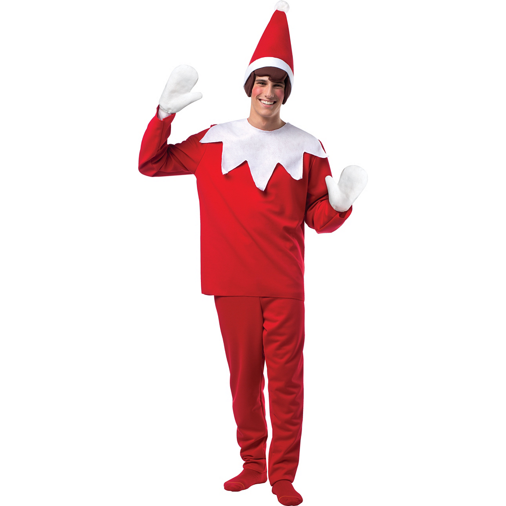 Adult Scout Elf Costume - The Elf on the Shelf Image #1