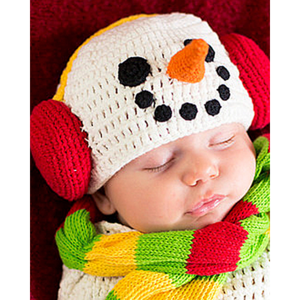 Nav Item for Baby Crochet Cocoon Snow Baby Costume Image #2