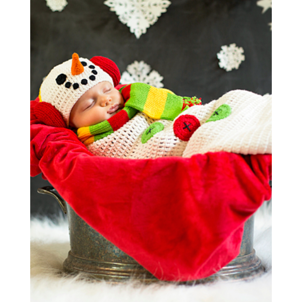 Nav Item for Baby Crochet Cocoon Snow Baby Costume Image #5