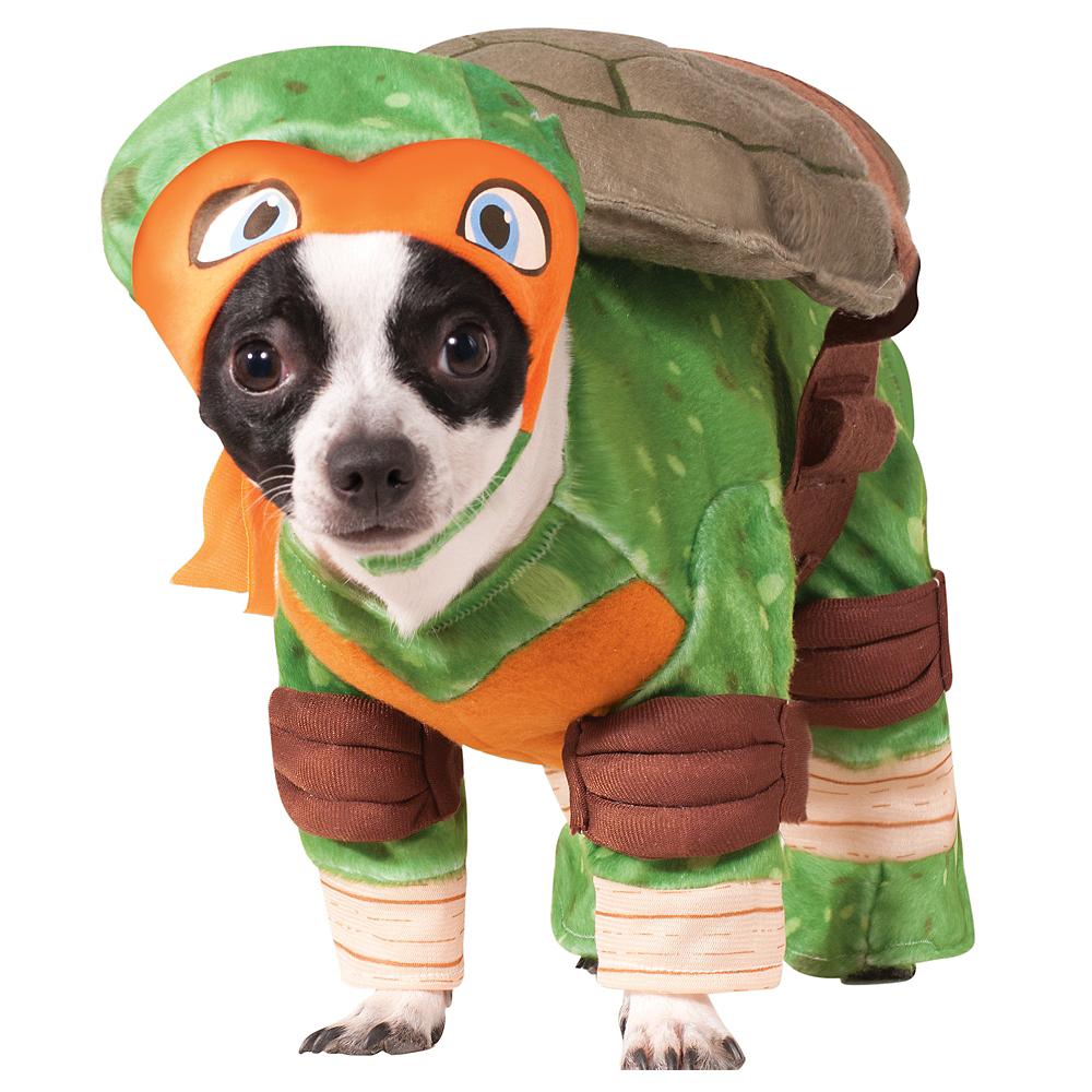 Party City Halloween 2020 Costumestmnt Teenage Mutant Ninja Turtles Michelangelo Dog Costume   Party City