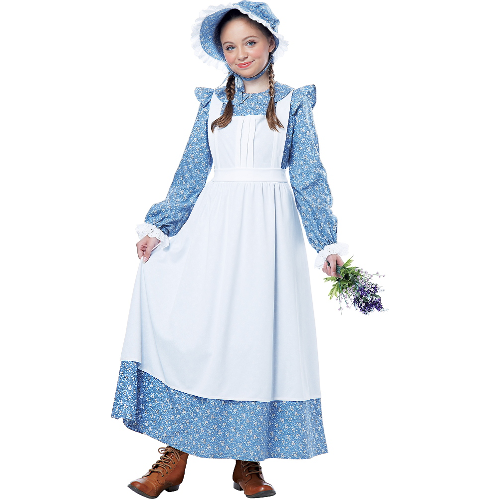 Nav Item for Girls Pioneer Costume Image #1