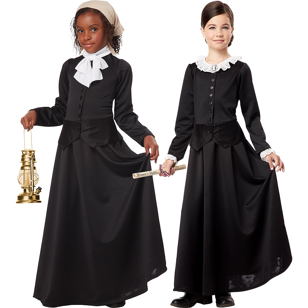Girls Colonial Costume Image #1