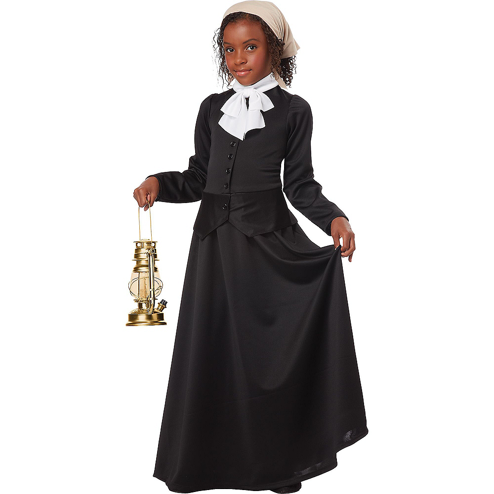 Girls Colonial Costume Image #2