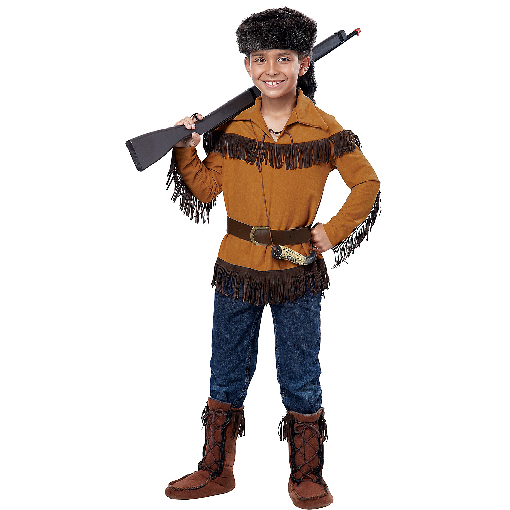Nav Item for Boys Frontier Costume Image #1