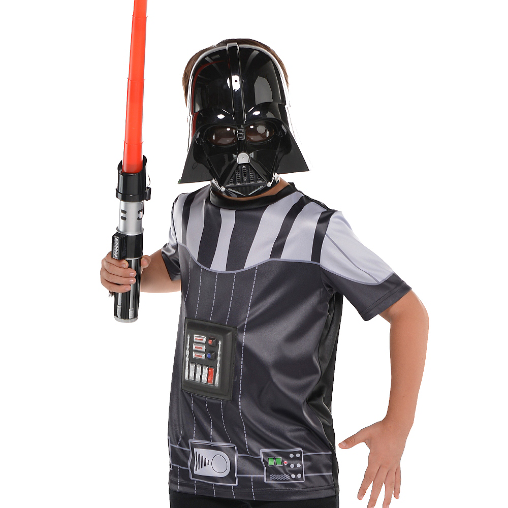 Child Darth Vader T-Shirt - Star Wars Image #3