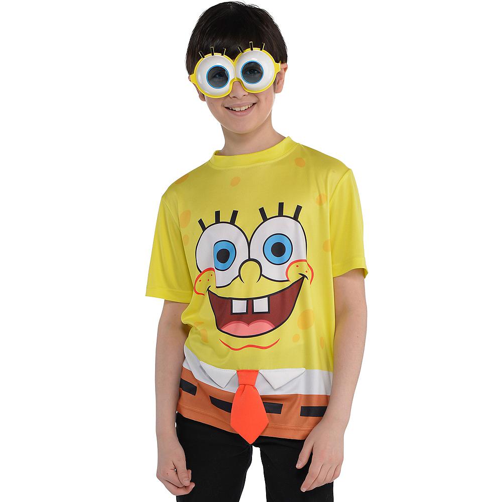 Child SpongeBob T Shirt Image 1