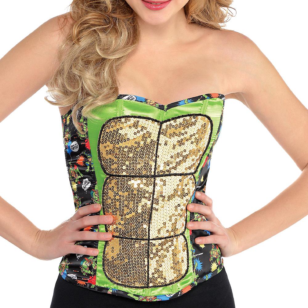 Sequin Teenage Mutant Ninja Turtles Corset Image #2