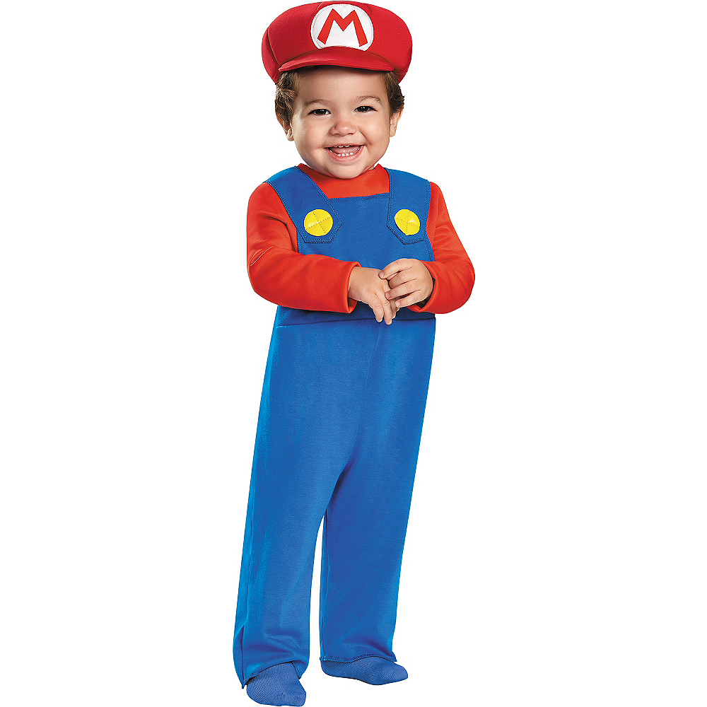 Nav Item for Baby Mario Costume - Super Mario Brothers Image #1
