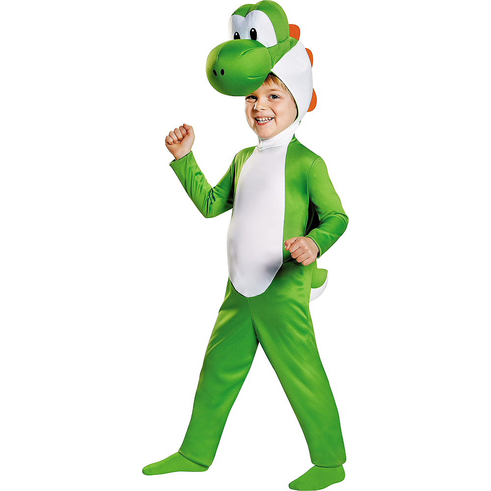 Nav Item for Toddler Boys Yoshi Costume - Super Mario Brothers Image #1