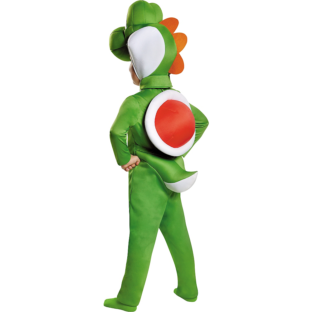 Nav Item for Toddler Boys Yoshi Costume - Super Mario Brothers Image #2