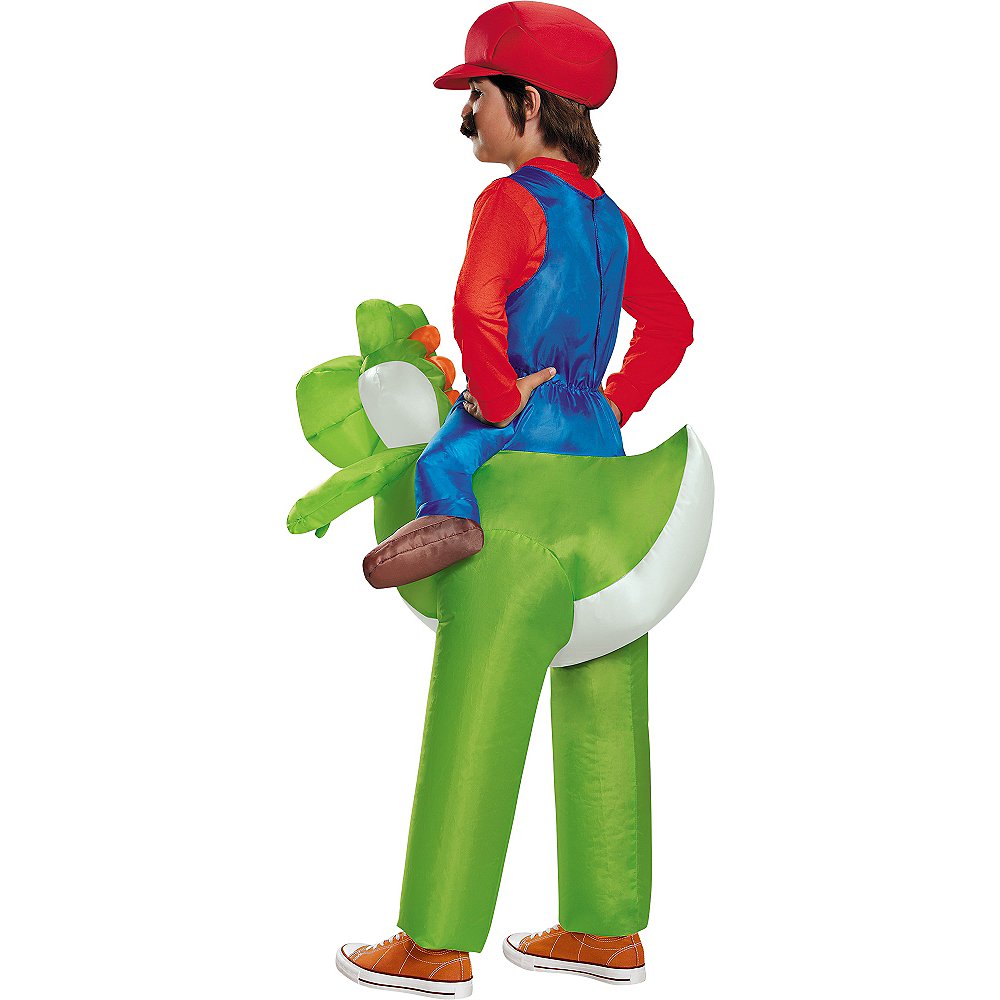 Boys Mario Riding Yoshi Costume
