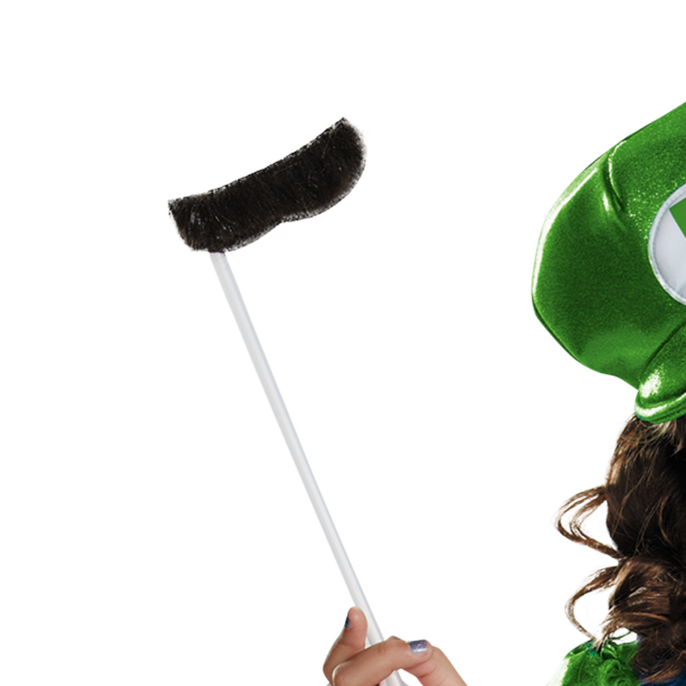 Girls Miss Luigi Costume - Super Mario Brothers Image #3