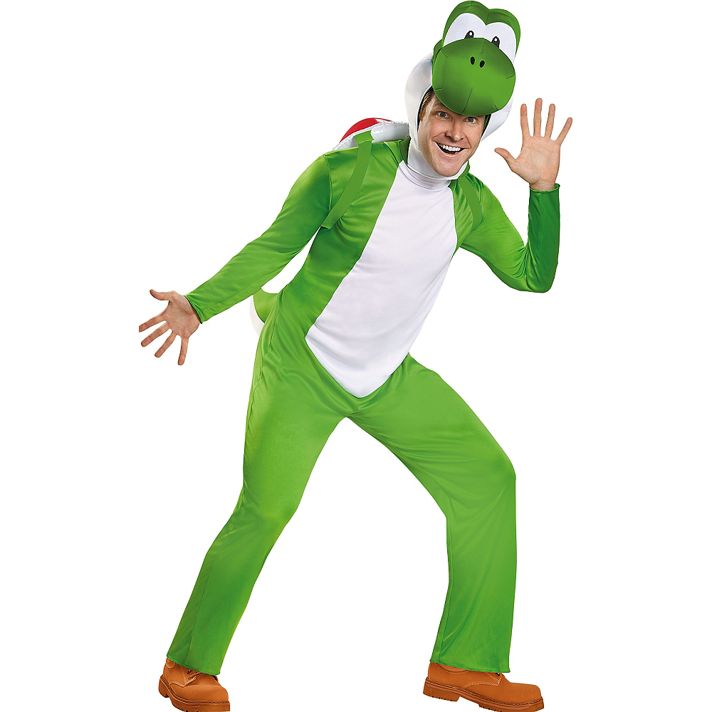 Adult Yoshi Costume Deluxe - Super Mario Brothers Image #1