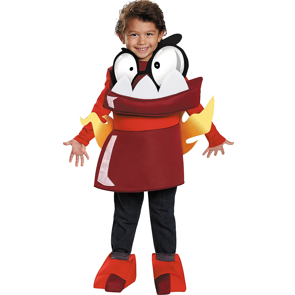 Toddler Boys Infernite Zorch Costume - Lego Mixels Image #1