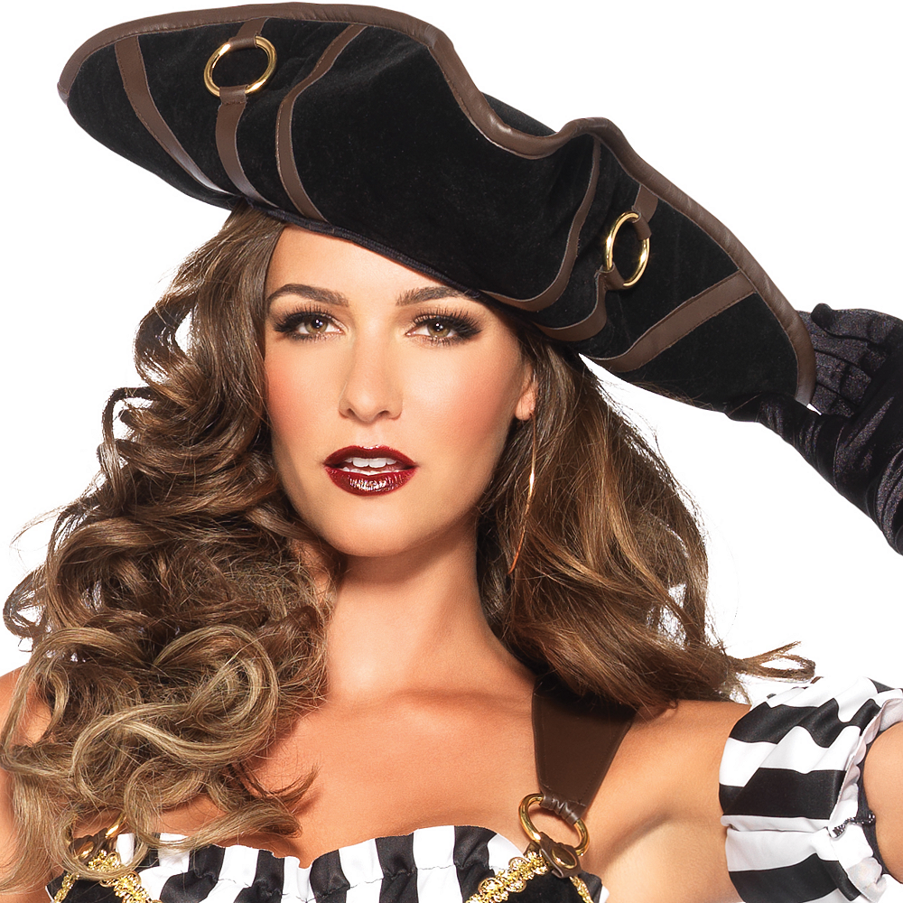 Adult Black Beauty Pirate Costume Image #2