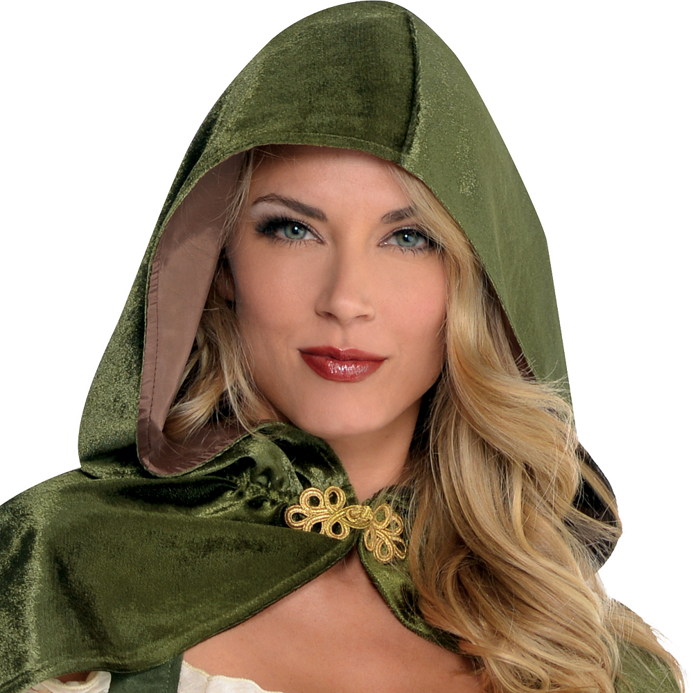 Adult Lady Robin Hood Costume Image #2