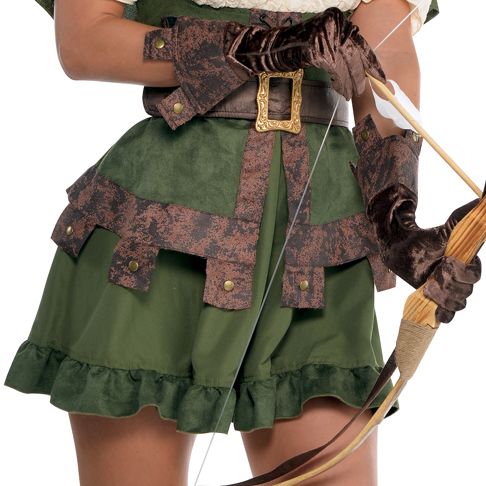 Adult Lady Robin Hood Costume Image #4