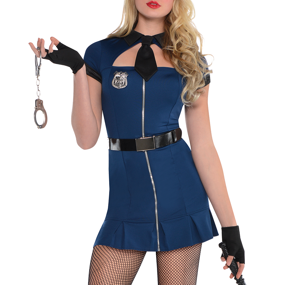 Nav Item for Adult Bad Cop Costume Image #2